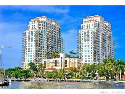 Fort Lauderdale Condo For Sale: 610 W Las Olas Blvd #514N