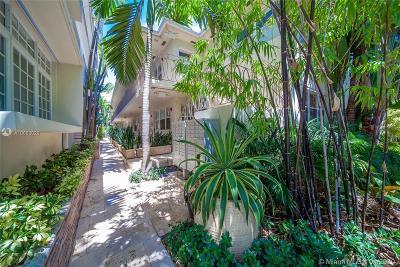 Miami Beach Condo For Sale: 1340 Drexel Ave #302