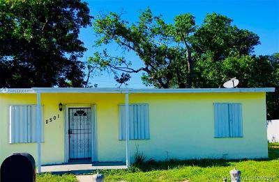 Miami Gardens Single Family Home For Sale: 2501 NW 157th St