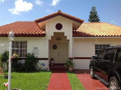 Single Family Home For Sale: 13881 SW 158th Ter