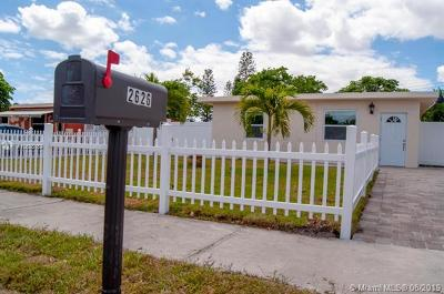 Pompano Beach Single Family Home For Sale: 2626 NW 6th Court