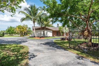 Homestead Single Family Home For Sale: 30815 SW 194th Ave