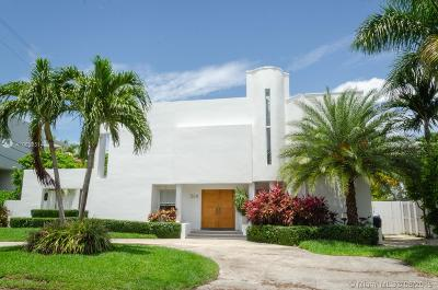 Key Biscayne Single Family Home For Sale: 524 Ridgewood Rd