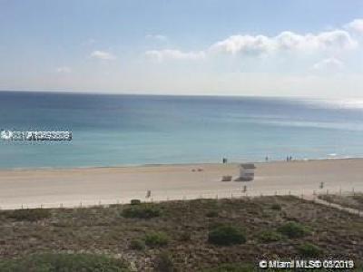 Miami Beach Condo For Sale: 5825 Collins Ave #7F