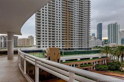 Miami Condo For Sale: 901 Brickell Key Blvd #809