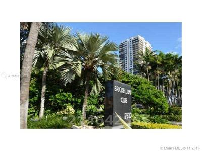 Brickell Bay Club, Brickell Bay Club Condo Condo For Sale: 2333 Brickell #1008