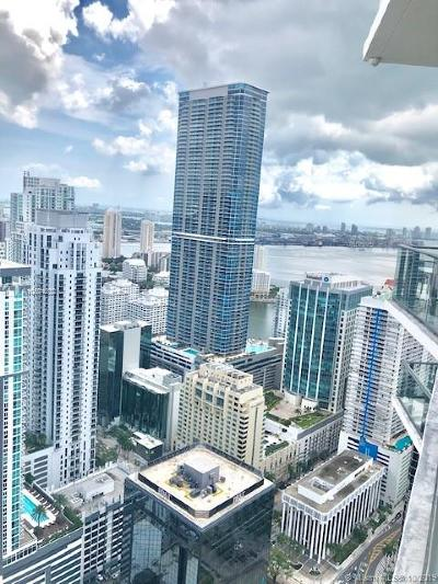 Sls Brickell Residences, Sls, Sls Brickell, Sls Brickell Condo Rental For Rent: 1300 S Miami Ave #PH5210
