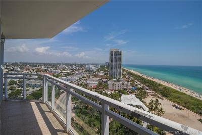 Miami Beach Condo For Sale: 7135 Collins Ave #1836