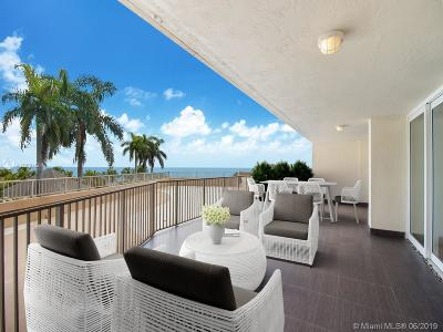 Key Biscayne Condo For Sale: 600 Grapetree Dr #3DN
