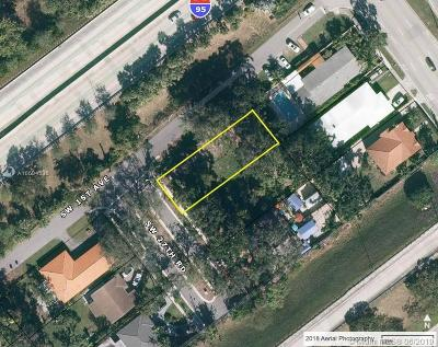 Residential Lots & Land For Sale: 45 SW 27th Rd