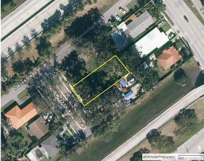 Residential Lots & Land For Sale: 35 SW 27th Rd