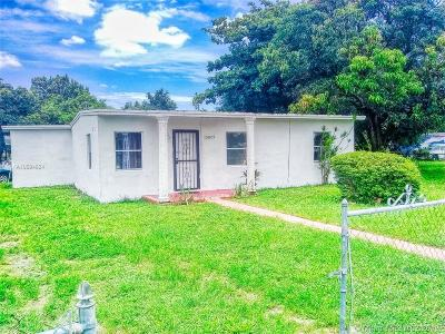 Opa-Locka Single Family Home For Sale: 15825 NW 22 Ct