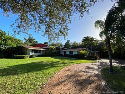 Pinecrest Single Family Home For Sale: 6000 SW 120th St