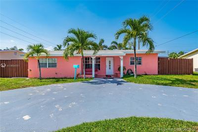 Pompano Beach Single Family Home For Sale: 1511 NE 34th St