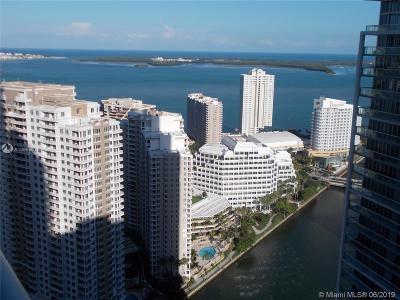 Miami Condo For Sale: 475 Brickell Ave #3909
