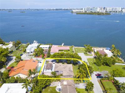 Miami Single Family Home For Sale: 8700 N Bayshore Dr