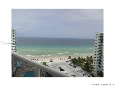Hollywood Condo/Townhouse For Sale: 3725 S Ocean Dr #1516