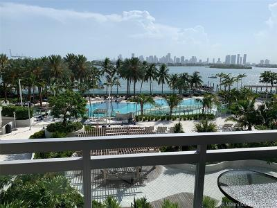 Miami Beach Condo For Sale: 1500 Bay Rd #416S