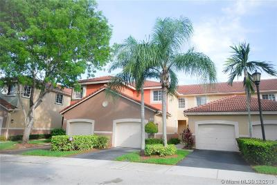 Weston Condo/Townhouse For Sale: 3804 San Simeon Cir