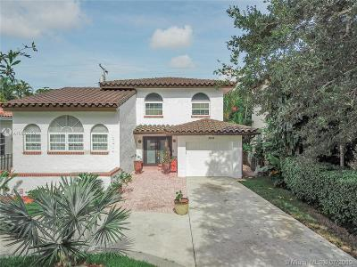 Coral Gables Single Family Home For Sale: 3614 Anderson Rd