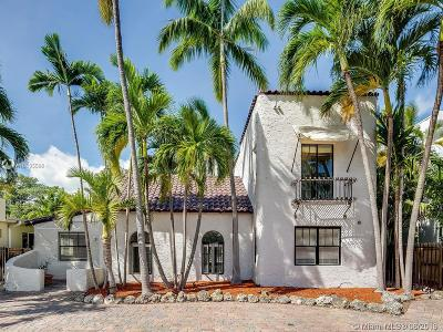 Miami Beach Single Family Home For Sale: 2444 Prairie Ave