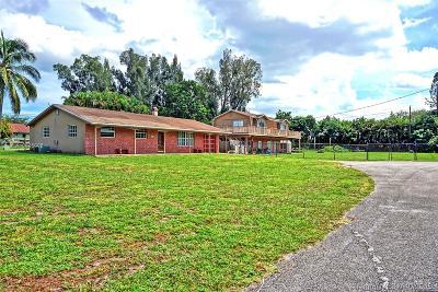Davie Single Family Home For Sale: 2700 SW 121st Ter