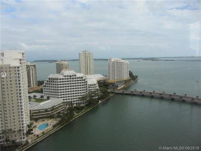 Brickell Single Family Home For Sale: 495 Brickell Ave #2401