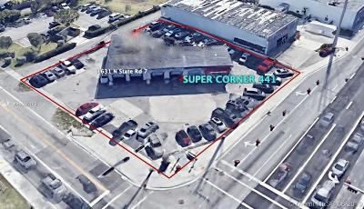 Hollywood Commercial For Sale: 1631 N State Road 7