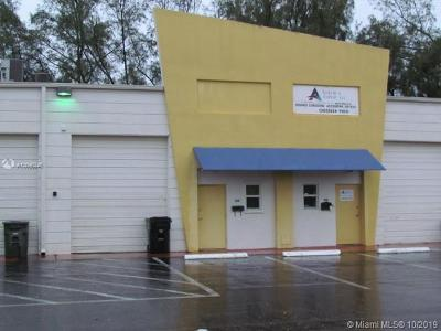 Hallandale Commercial For Sale: 411 NW 10th Ter #411