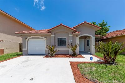 Cutler Bay Single Family Home For Sale: 8965 SW 214th St