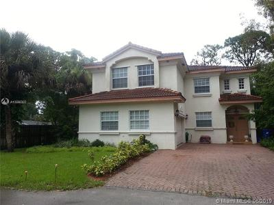 Fort Lauderdale Single Family Home For Sale: 1451 SW 11th Pl