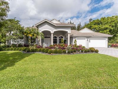 Davie Single Family Home For Sale: 1903 SW 132nd Way