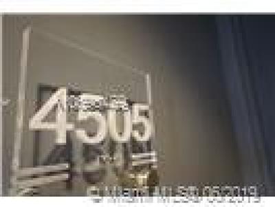 Miami Condo For Sale: 1100 Biscayne Blvd #4505