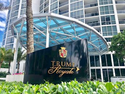 Trump Palace, Trump Palace Condo, Trump Palace Condominium Rental For Rent: 18201 Collins Ave #507