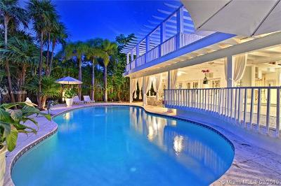 Key Biscayne Single Family Home For Sale: 241 Knollwood Dr