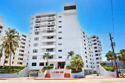 Miami Beach Condo For Sale: 6830 Indian Creek Dr #5-A