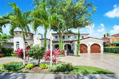 Coral Gables Single Family Home For Sale: 2500 N Greenway