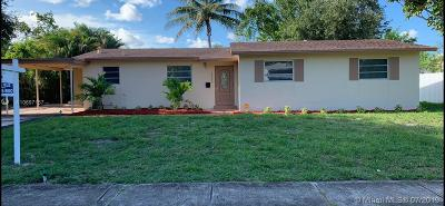 Plantation Single Family Home For Sale: 4713 NW 3rd St
