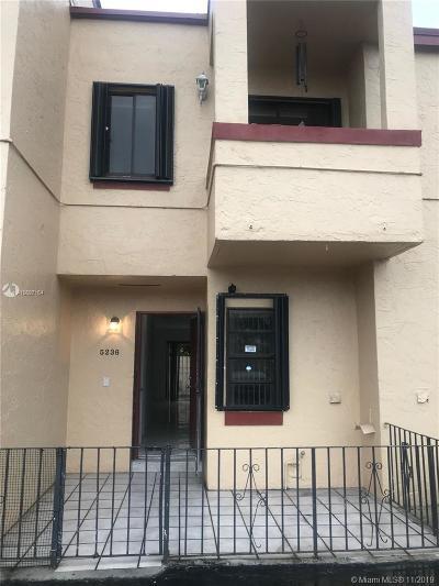Hialeah Condo For Sale: 5236 W 24th Ave #5-5
