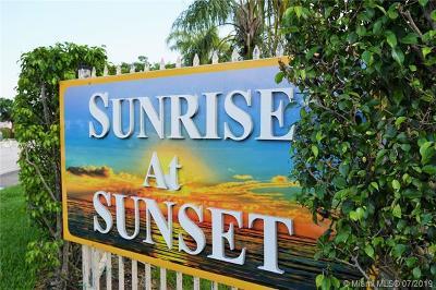 Miami Condo For Sale: 7510 SW 152nd Ave #C208