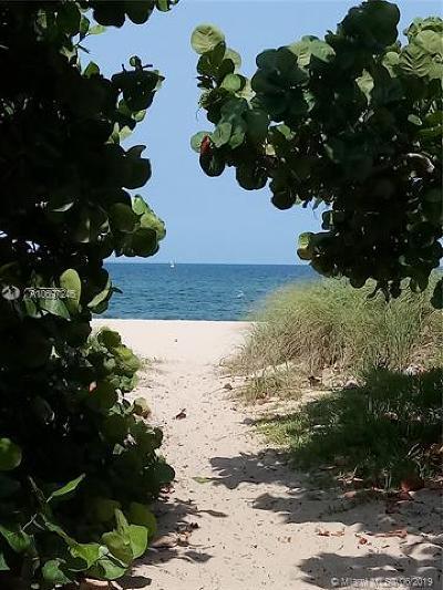 Pompano Beach Condo For Sale: 1505 N Riverside Dr #302