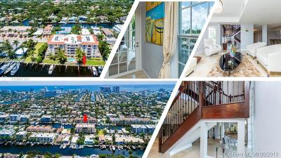 Fort Lauderdale Condo For Sale: 110 Hendricks Isle #9