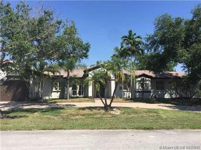 Davie Single Family Home For Sale: 13051 SW 29th Ct