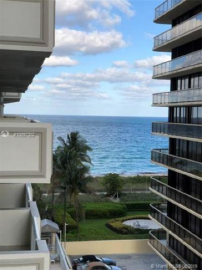 Surfside Condo For Sale: 9499 Collins Ave #609
