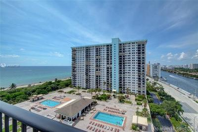 Hollywood Condo For Sale: 1201 S Ocean Dr #1611N