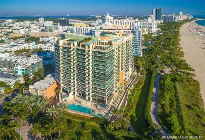 Miami Beach Condo For Sale: 1455 Ocean Dr #1111