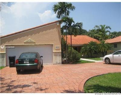 South Miami Single Family Home For Sale: 6051 SW 88th St