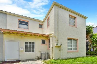Miami Beach Single Family Home For Sale: 335 W 28th St