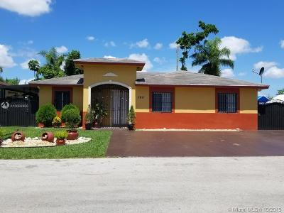 Florida City Single Family Home For Sale: 760 SW 9th Plz