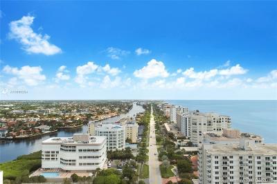 Highland Beach Condo For Sale: 3210 S Ocean Blvd #405